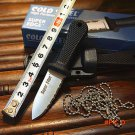 New Cold Steel Super Edge Mini Knife Camping Fishing Tactical Survival Straight Knives Sha