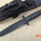 Tanto Hunting Fixed Knives,420J2 Blade Rubber Handle Tactical Survival Knife,Camping Knife. BC704
