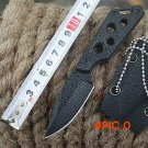 hunting knife 5Cr15 + ABS case fixed blade knives outdoor survival camping knife 440A Stee