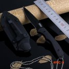 Fixed Blade Survival Hunting Knife Outdoor Small Necklace Knife Cutter Camping Tactical Kn