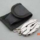 Survive Tactical Pocket tools Stainless steel Mini Portable Multi Function Folding Camping