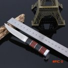 Straight Tactical Knife 3CR13 Blade Outdoor Rescue Camping Knives Stainless Steel Fixed Bl