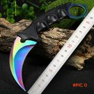 Hiqh quality Cool Hunting Karambit Knife CS GO Never Fade Counter Strike Fighting Survival