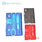 New Handy Multifunctional Travel Outdoor Survival Camping Tool Card Knife  Camping Equipme