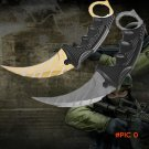 Hunting Karambit Knife CS GO Never Fade Counter Strike Fight Survival Tactical Karambit Kn