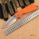 WTT D2 Blade Tactical DOC Folding Knife With 3 Colors G10 Handle Hunting Outdoor Camping K