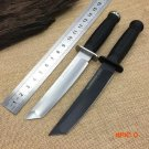 2 Options! Cold Steel Tanto Hunting Survival Knife,D2 Blade ABS Handle Tactical Fixed Kniv