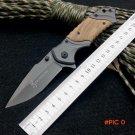 Hot Sale Browning Folding Knife 440C Titanium Coating Blade Pocket Survival Knifes Hunting