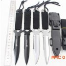 New 2016 Paratroopers Knife Stainless Steel Diving fixed blade knife Outdoor Survival Camp