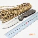BMT Sebenza Tactical Survival Folding Blade Knife 440 Blade Steel Handle Utility Pocket To