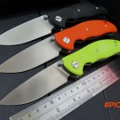 2016 new design F95 Bearing system D2 Floding knife G10 handle outdoor survival hunting ca