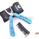 Multifunctional Collapsible Fishing Plier/Spanner/Wrench/Bottle Opener Frosted Surface sur