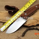 Italy LionSteel Hunting Fixed Knives,7Cr17Mov Blade Rosewood Handle Tactical Survival Knife. BC1266