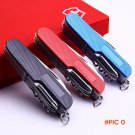 11 In 1 Swiss Multifunctional Knife Folding Tool Set  Hunting Outdoor Survival Knives Port