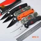 Free Shipping C81 58HRC CPM-S30V blade 2 colors G10 handle 3 colors camping survival foldi