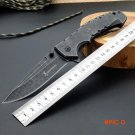 Folding Knife Browning Pocket knife 5CR13MOV Blade Steel Handle Survival Knives Hunting Ta