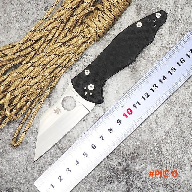 WLT C85 YOJIMBO 2 Tactical Hunting Folding Knife CPM S30V Blade G10 Handle Camping Surviva