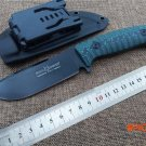 Fixed Blade hunting knife  Fox FX-131  D2 blade Micarta handle outdoor tactical survival k