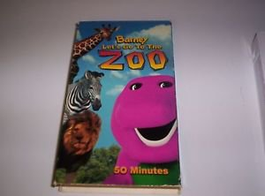 Barney - Let's Go to the Zoo (VHS, 2001)