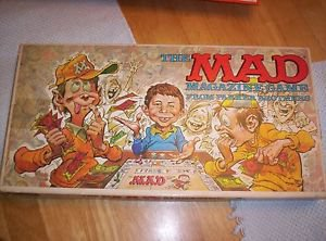 The MAD Magazine Board Game  #124 Vintage 1979 Parker Brothers