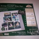 Burnes Elite Ringbound Refill #56 RPBGMG Postbound Photo Album Pages