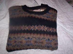Vintage Mens Bemidji Woolen Mills Minnesota Sweater Size Large Wool Blend