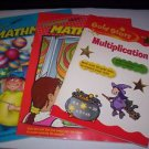 Highlights Mathmania 2 pack new paperbacks plus Gold Stars Multiplication