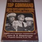 The Winning of World War II - Top Command - Pacific Commanders UNOPENED  VHS