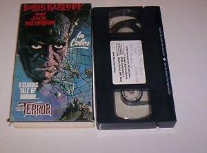 The Terror Boris Karloff & Jack Nicholson VHS Classic Campy Horror Roger Corman
