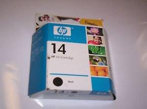 GENUINE HP 14 Black Ink Cartridge SEALED