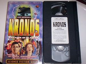 Kronos: Ravager of Planets, Classic Sci Fi VHS Jeff Morrow, Rare Letterbox