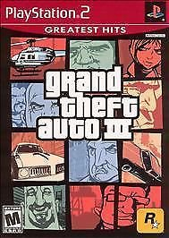 PlayStation 2 Grand Theft Auto III (PS2) VIDEOGAMES