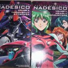 Martian Successor NADESICO-Lot of Volumns.1-4, VHS tapes ANIME