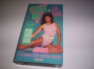 START UP WITH JANE FONDA 1987  LIGHT EXERCISE WORKOUT SPECIAL LIMITED EDITION
