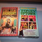 LOT OF 2 NEW SEALED RICHARD SIMMONS VHS TONE UP ON BROADWAY & TONIN UPTOWN