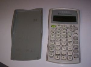 TI-30XIIB Scientific Calculator--WORKS GREAT Super condition Batteries included