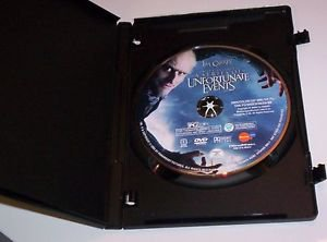 Lemony Snicket's A Series of Unfortunate Events (DVD, 2005, Widescreen)