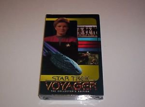 STAR TREK VOYAGER  VHS THE COLLECTOR'S EDITION:PARALLAX & TIME AND AGAIN