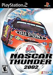 NASCAR Thunder 2002 (Sony PlayStation 2, 2001) PS2 Fast Shipping!