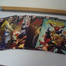 Lot of 7 Marvels MIGHTY AVENGERS #1, 2, 3, 4, 5, 6, 8  Fine Condition