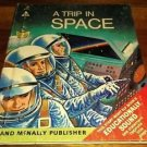 Vintage Rand McNally Elf Book A Trip In Space 1968 60s  NASA