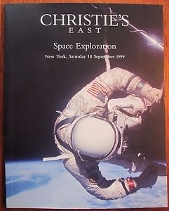 SPACE EXPLORATION 1999 CHRISTIE'S AUCTION CATALOG VG