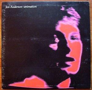 JON ANDERSON Animation LP 1982 Atlantic orig EX/EX