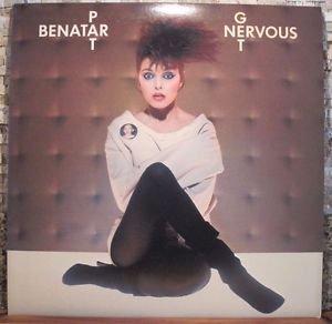 1982 Pat Benatar Get Nervous LP Album NM/EX
