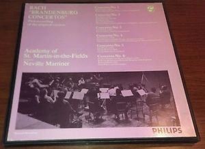BACH Brandenburg Concertos,- BEST OFFER - No. 1,2,3,4,5,6,