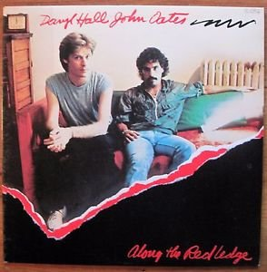 Daryl Hall & John Oates -BEST OFFER- Along the Red Ledge Vinyl LP  EX/EX