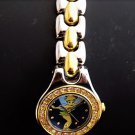Womens Vintage Disney (SII) Tinker Bell Watch New Battery Gold Silver Band