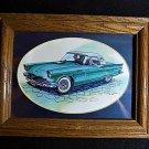 Ford 1957 Thunderbird Framed Print by Edward C. Schaefer 1993