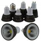 Dimmable LED COB Spotlight E26 E27 GU10 GU5.3 MR16 6W 9W Bulb Lamp 110V 220V 12V