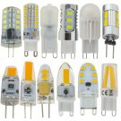 Dimmable G4 G9 LED Corn Bulb 3W 5/7W 9W 5730/2835 SMD/COB Silicone Crystal Light